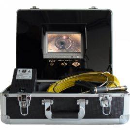 M+A01 Kanalkamera – Endoskop mit 30 m Schiebekabel – Kamera in Farbe