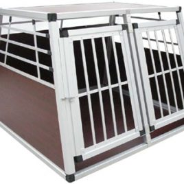 H+F41Hundetransportbox groß – für 2 Hunde