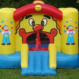K+P10Hüpfburg Clown klein 6,5 m² nur für den privaten Gebrauch