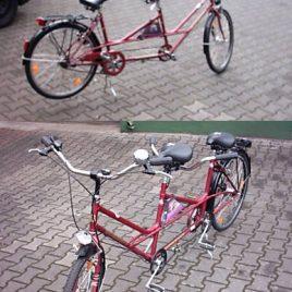 H+F10Schauff – Tandem Fahrrad – 5 Gang
